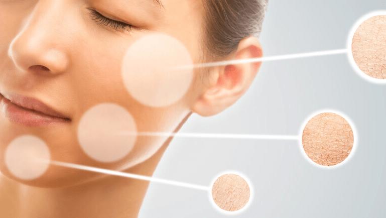 Тестирование типа кожи лицв